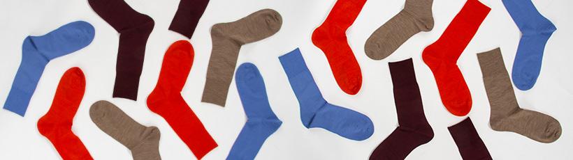 strumpor i olika färger för dam, herr och barn - Gasello